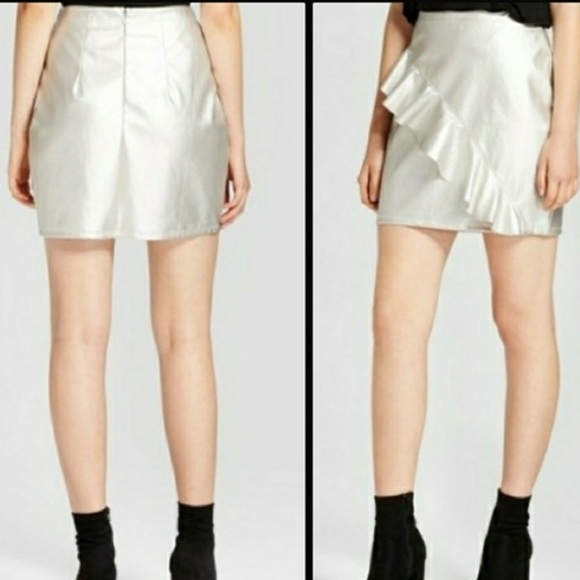 3ca213f8b1 Mossimo Supply Co. Skirts | Mossimo Metallic Mini Skirt | Poshmark